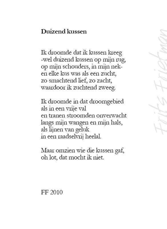 Gedichten Frits Frietman